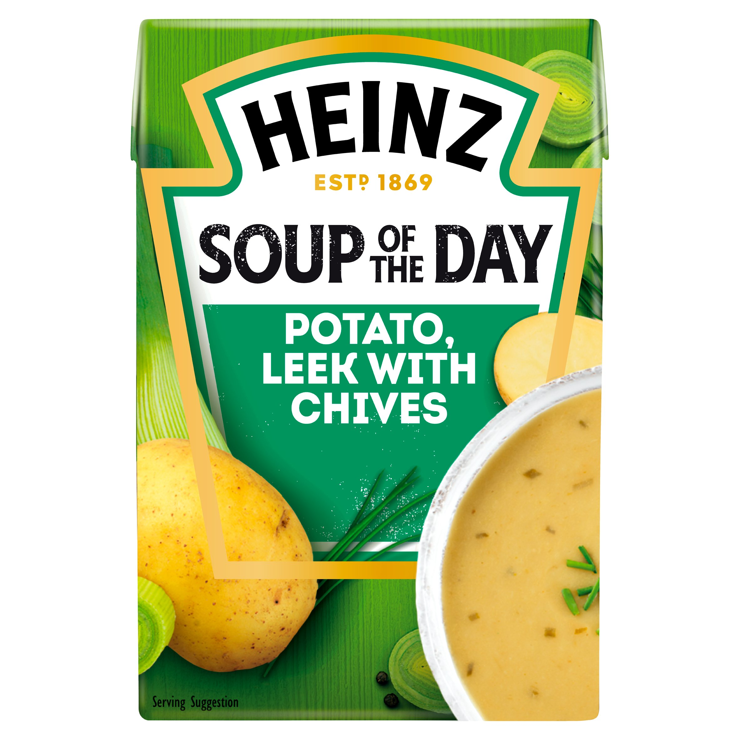 Heinz Soup Of The Day Potato & Leek Soup 400G