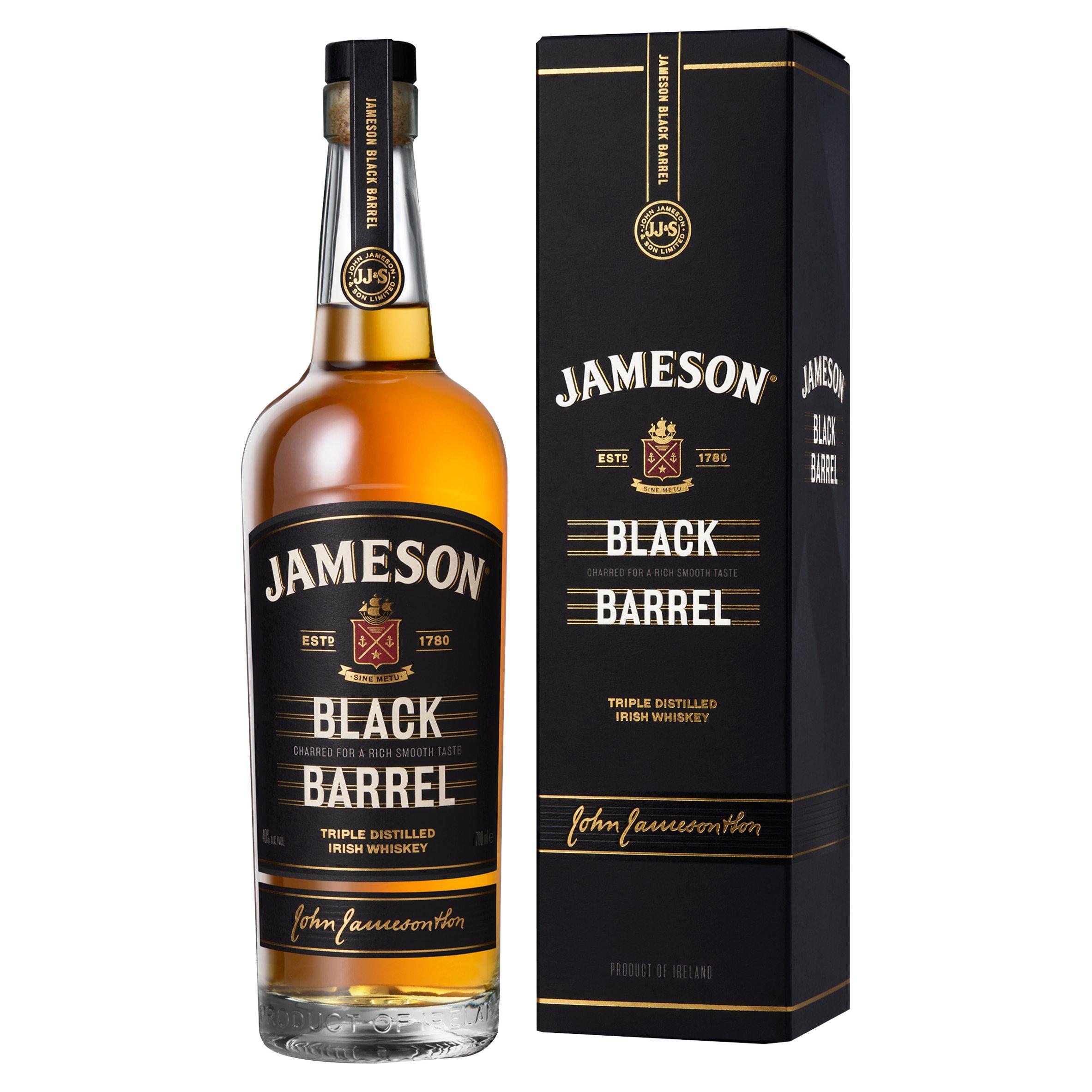 Jameson Black Barrel 70Cl