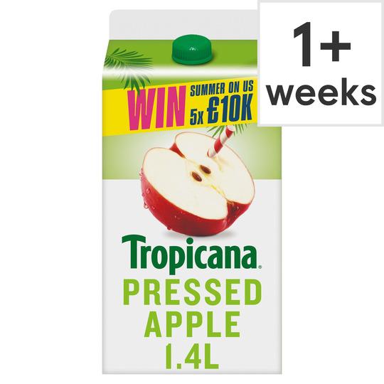 image 1 of Tropicana Pressed Apple Juice 1.4L