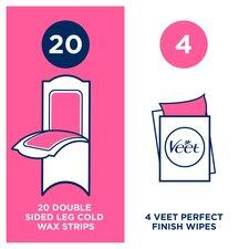 image 3 of Veet Wax Strips Sensitive Skin Face 40 Pack