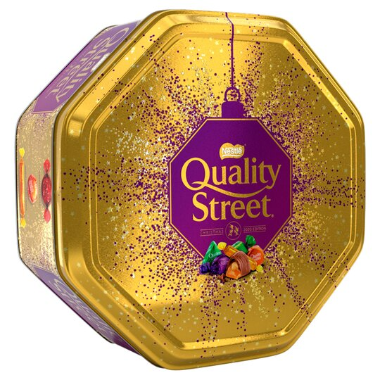Quality Street Tin 800G £5.00 Clubcard Price at Tesco