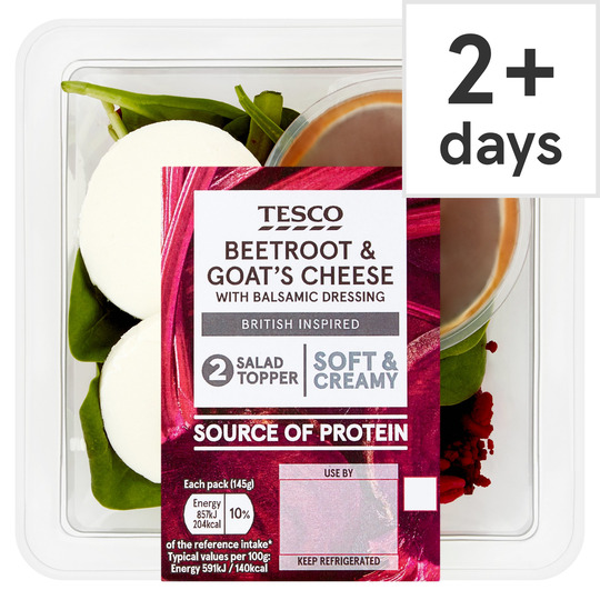 Tesco Beetroot & Goats Cheese Meal Topper 145G