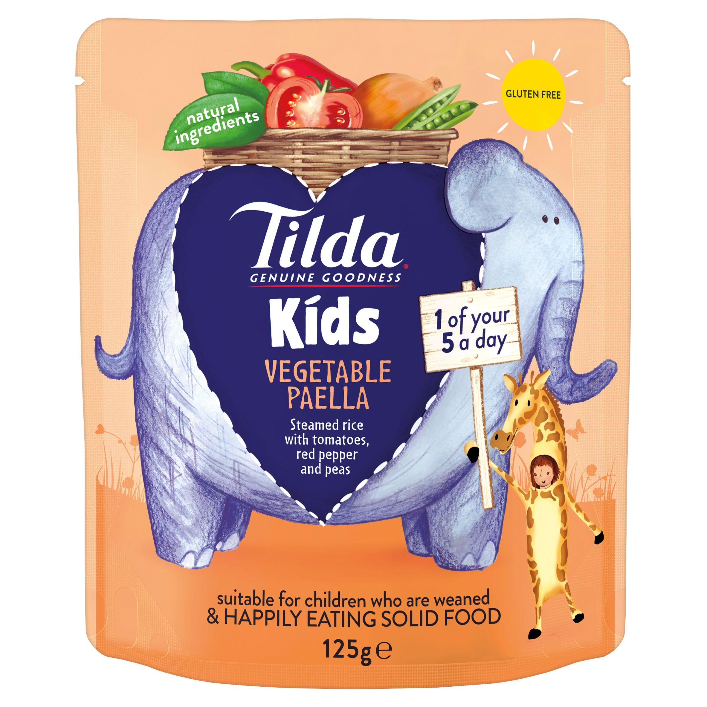 Tilda Kids Vegetable Paella 125G