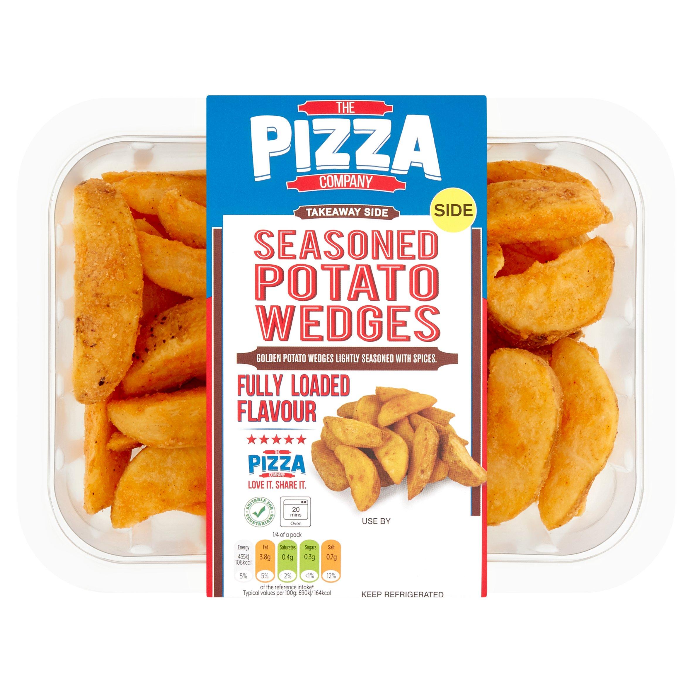The Pizza Company Seasoned Potato Wedges 300G