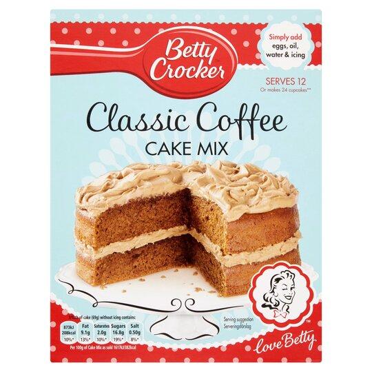 Admirable Betty Crocker Coffee Cake Mix Tesco Groceries Personalised Birthday Cards Vishlily Jamesorg