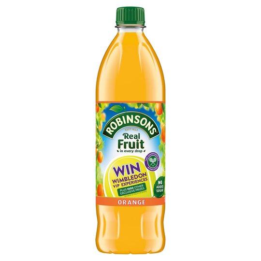 Robinsons Orange Squash No Added Sugar 1L