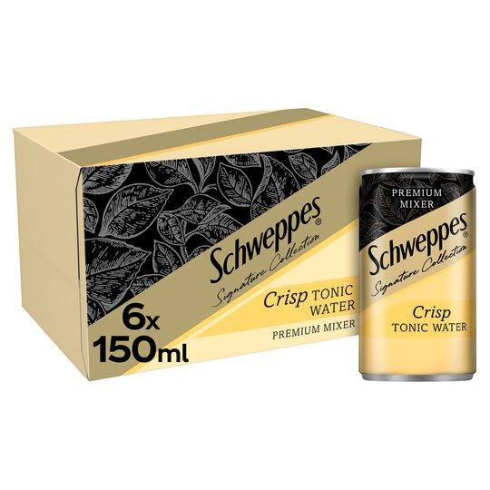 Schweppes 1783 Crisp Tonic Water 6X150ml