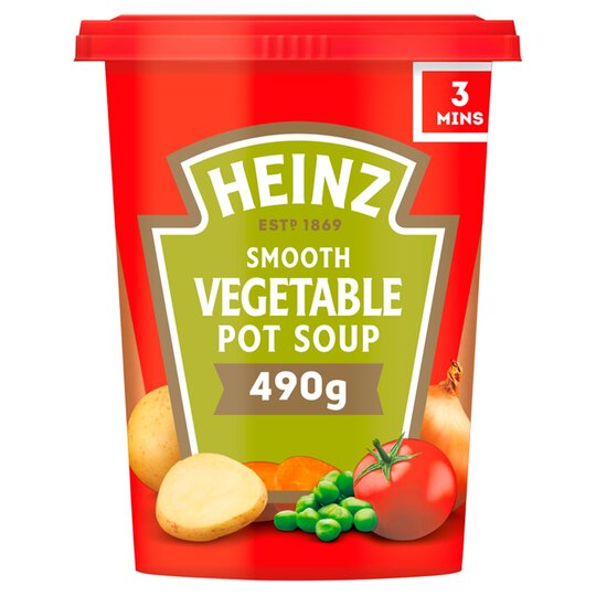 image 1 of Heinz Smooth Vegetable Pot Soup 490G