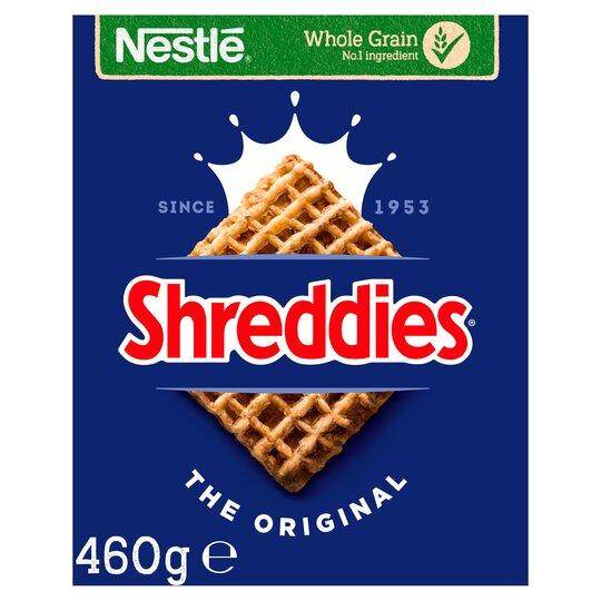 Nestle Shreddies Original Cereal 460G