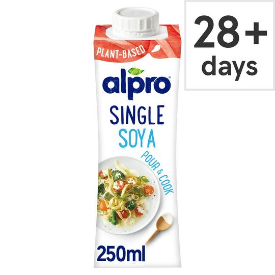 image 1 of Alpro Single Soya Uht Soya Alternative To Cream 250Ml