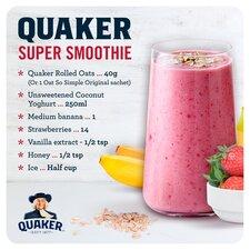 image 3 of Quaker Oat So Simple Original Porridge Sachet 20X27g