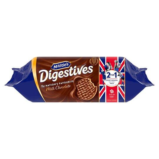 Mcvities Milk Chocolate Digestive 266G