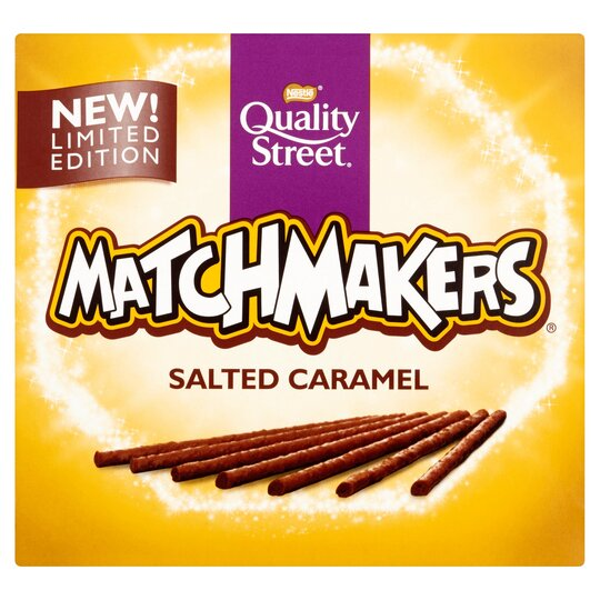 image 1 of Quality Street Matchmakers Salted Caramel 130G
