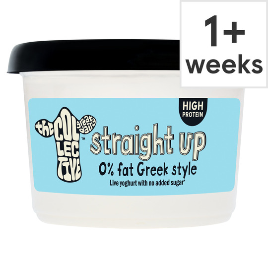 The Collective Straight Up 0% Live Yogurt 450G