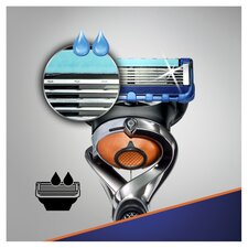 image 2 of Gillette Fusion Proglide Razor With Flexball Technology