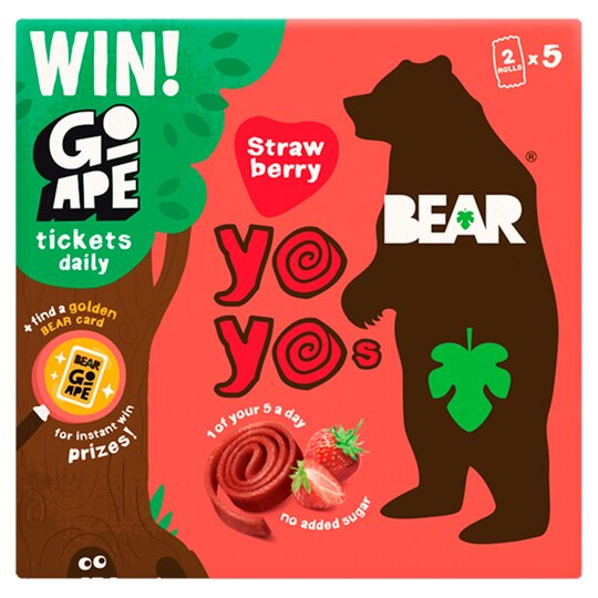 Bear Strawberry Yoyo Multipack 5X20g