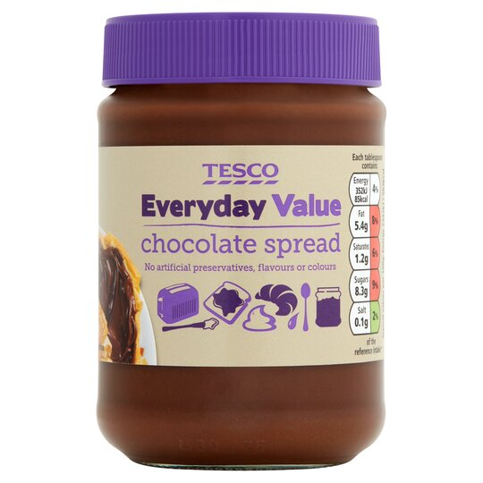 Tesco Everyday Value Chocolate Spread 400g