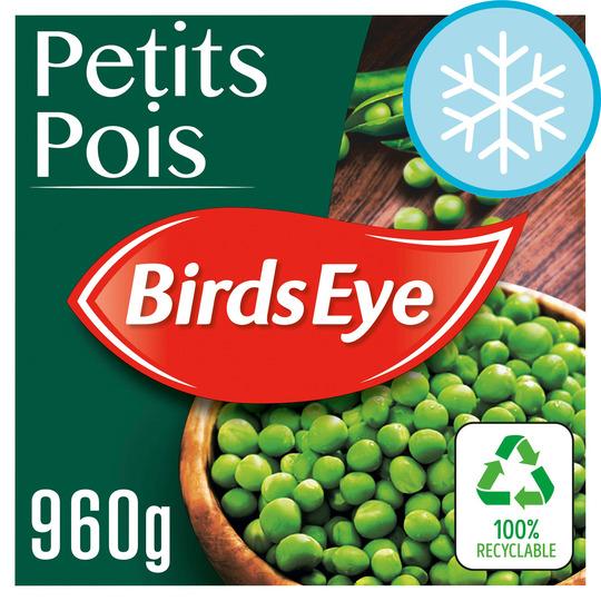 Birds Eye Petits Pois 960G