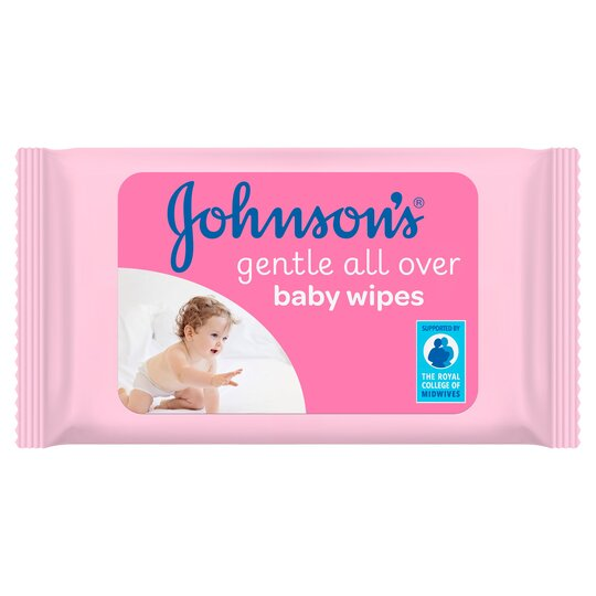 Johnson's Baby Wipes Gentle All Over 56 Pack