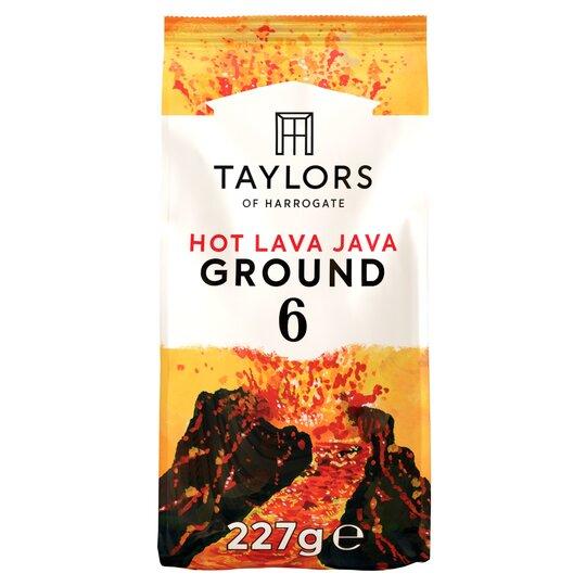 Taylors Hot Lava Java Ground Coffee 227G