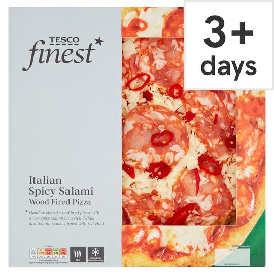 Tesco Finest Italian Salami Pizza 405G