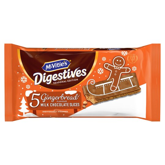 Mcvities Digestives Gingerbread Slices 5 Pack 114.1G