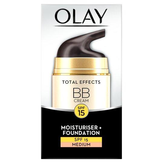 image 1 of Olay Total Effects Bb Cream Medium 50Ml