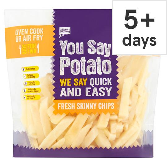 You Say Potato Skinny Chips 500G