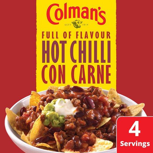 image 1 of Colman's Hot Con Carne Recipe Mix 37G