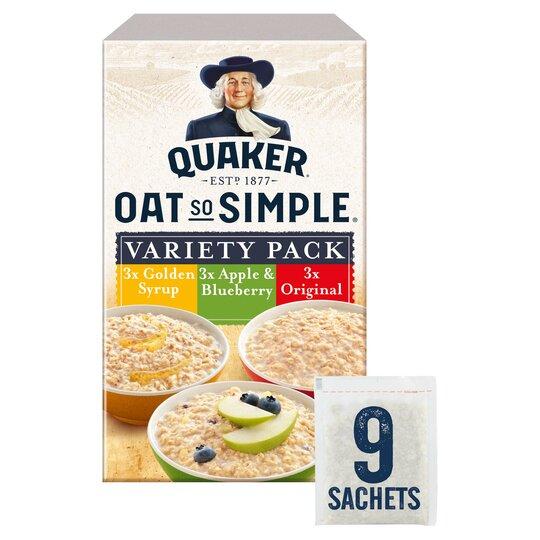 image 1 of Quaker Oat So Simple Variety Porridge 9Pk 297G