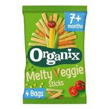 image 1 of Organix Melty Veggie Sticks 4X15g