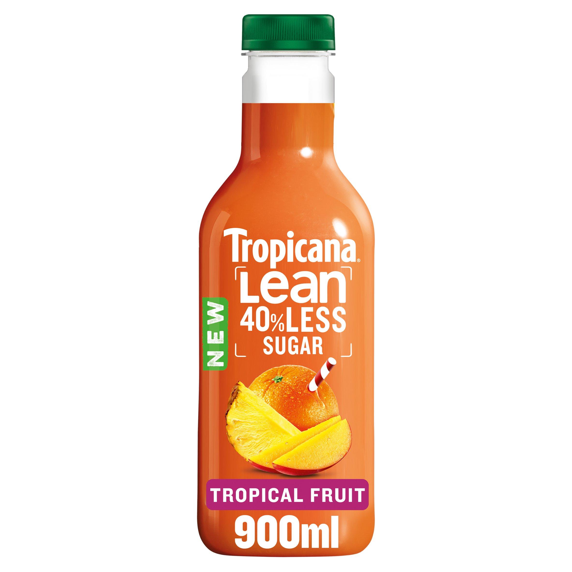 Tropicana Lean Tropical Fruit Juice 900Ml