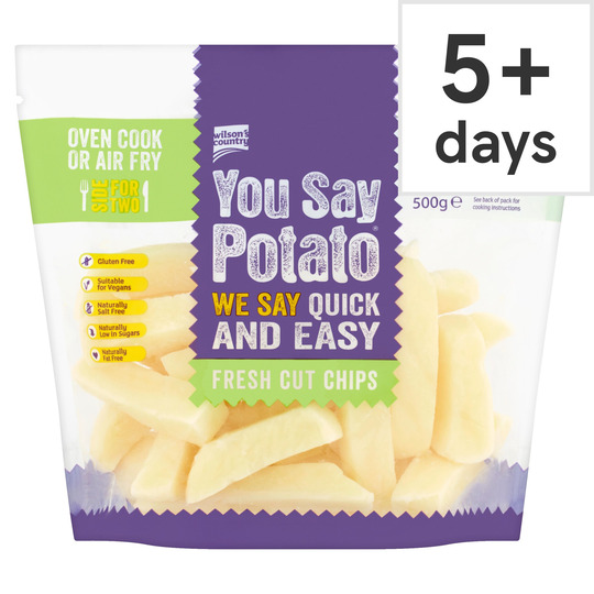 You Say Potato Fresh Cut Chips 500G