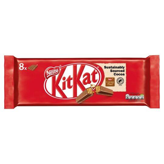Kit Kat Milk Chocolate Bar 4 Finger 41.5G X 8 Pack