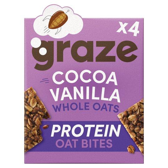 Graze Cocoa & Vanilla Bar 4 X 30G