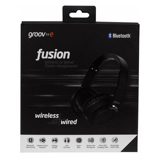 Groov-E Fusion Bluetooth Earphones Black