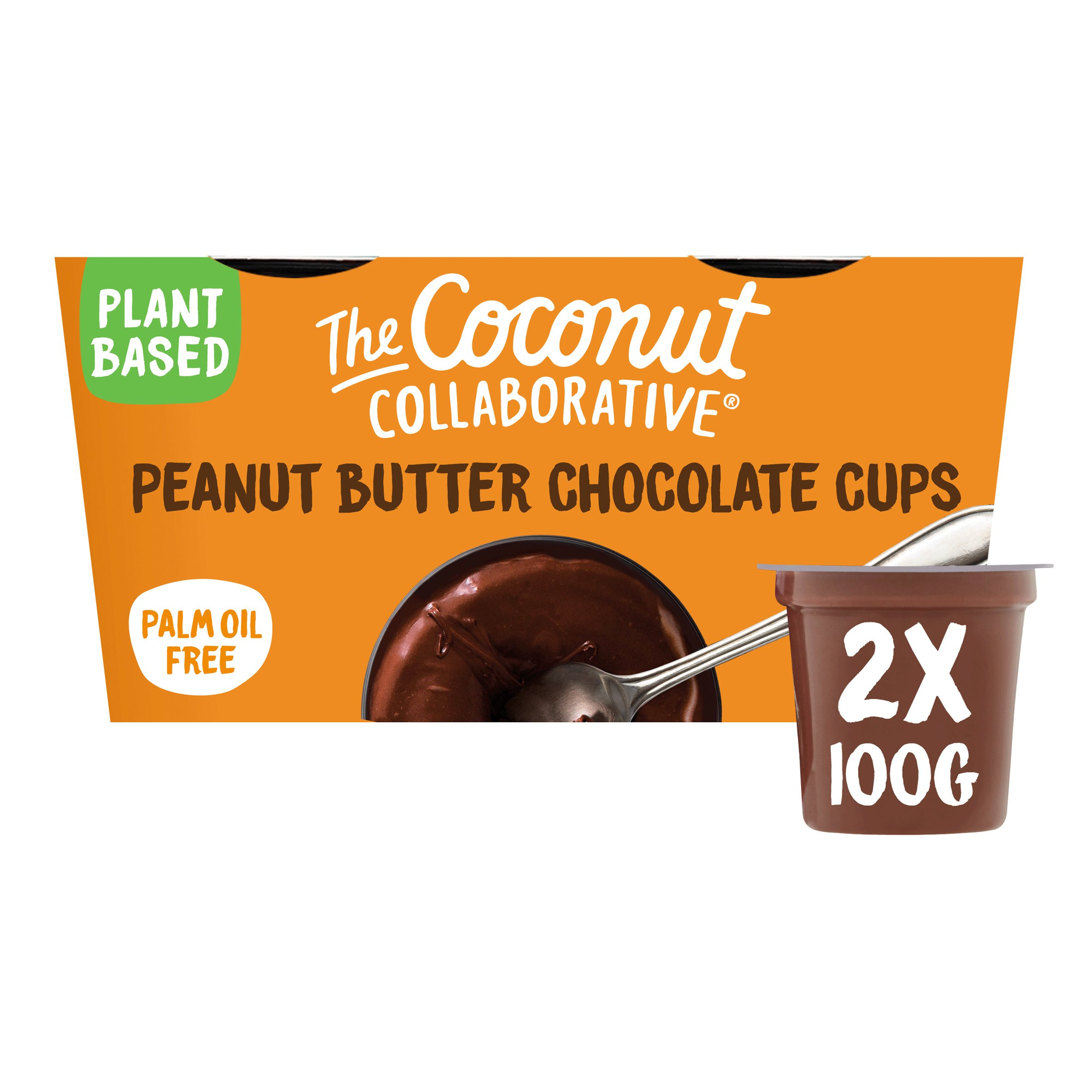 The Coconut Collaborative Peanut Butter Chocolate Cups 2X100g
