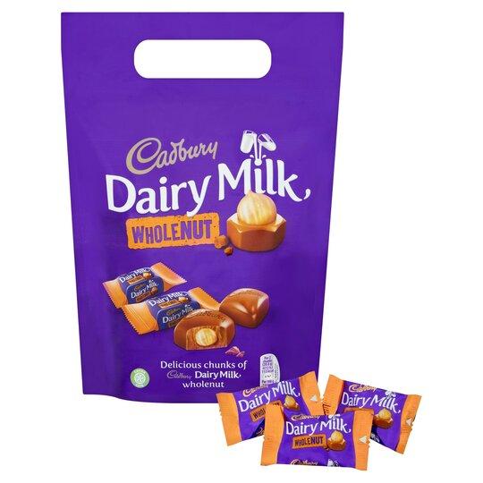 Cadbury Dairy Milk Wholenut Pouch 350G