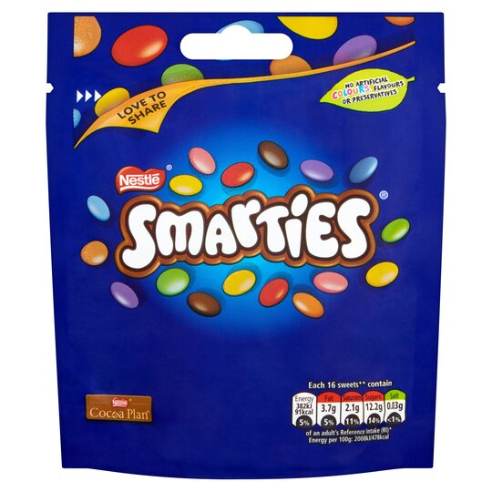 Smarties Pouch Bag 118G