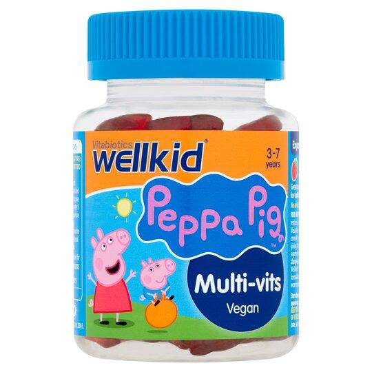 Wellkid Peppa Pig Multi-Vits Soft Jellies X30
