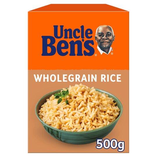 Uncle Bens Wholegrain Rice 500G