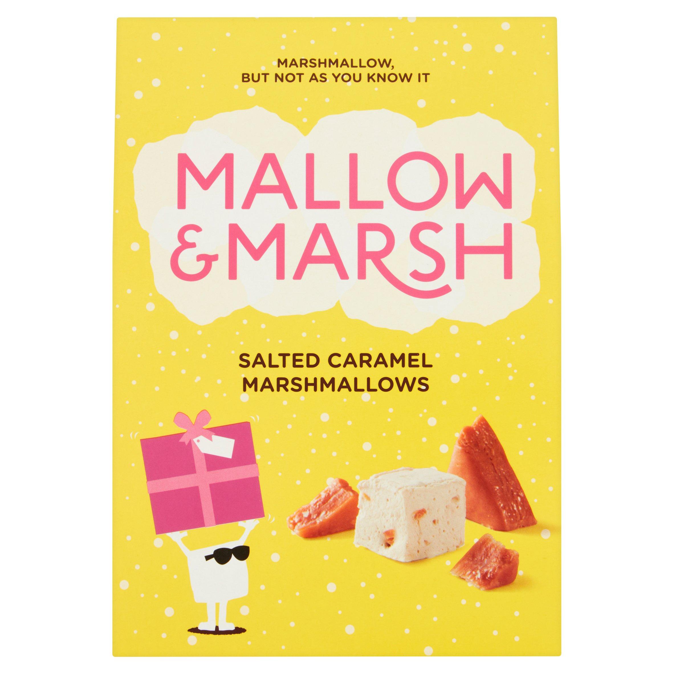 Mallow & Marsh Salted Caramel Marshmallows 116G