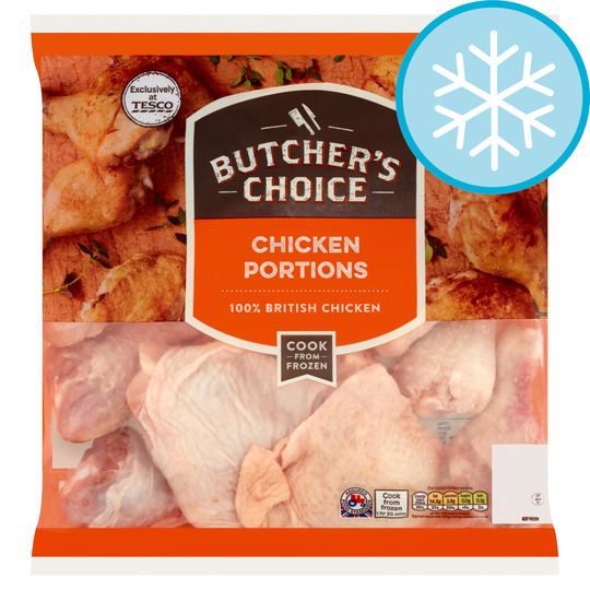 Butcher's Choice Chicken Portions 2Kg