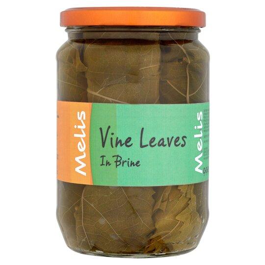 Melis Vine Leaves In Brine 630g Tesco Groceries