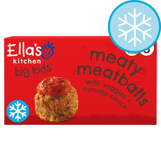 Ella's Kitchen Big Kids Meatballs With Tomato Sauce 200G