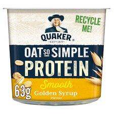 image 1 of Quaker Protein Golden Syrup Porridge 63G