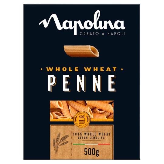 Napolina Whole Wheat Penne 500G