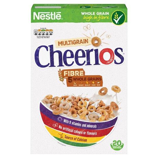 Nestle Cheerios Cereal 600G - Tesco