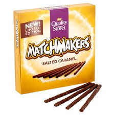 image 2 of Quality Street Matchmakers Salted Caramel 130G