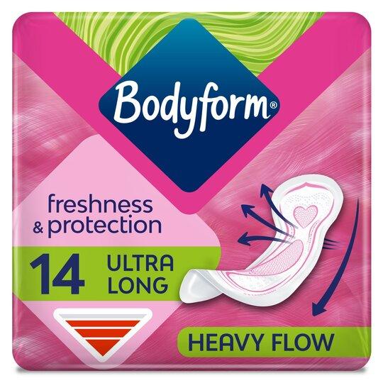 Bodyform Ultra Super Sanitary Towels 14 Pack